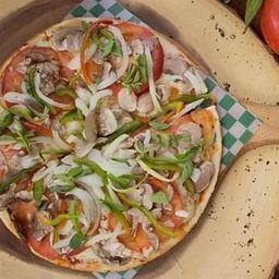 Pizza Vegetariana Borde Queso