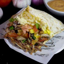 Arepa Fit con Carne