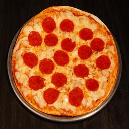 Pizza Mediana Fuck The Virus