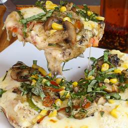 Pizza Estofada Vegetariana