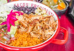Taco Bowl Pollo