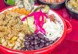 Taco Bowl Vegetariano