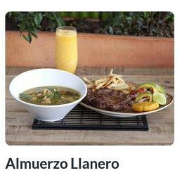 Almuerzo Llanero a mi Gusto