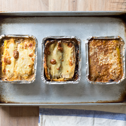 Lasagna pollo para hornear (gluten free)