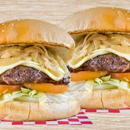 2x1 hamburguesa Sencilla