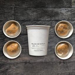 Kit galleta x 4 + gelato