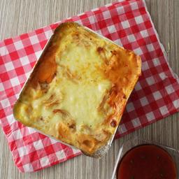 Lasagna de Pollo, Champiñones y Maíz