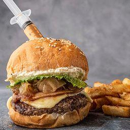 Burger 3 Cheeses BBQ