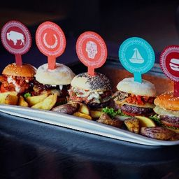 La Moñona x10 Mini-Burgers