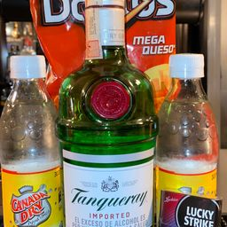 Combo Tanqueray Dry 750 ml