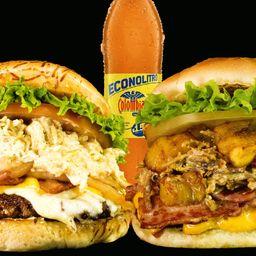 Combo burger 4