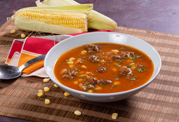 Sopa con Chili