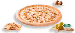 Pizza Masa Delgada 3 Ingredientes