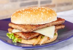 Combo Hamburguesa Doble Carne 100 Gr