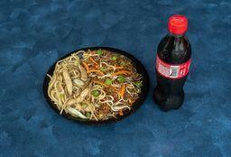 Combo Pollo Cantones Mixto + Coca Cola Sabor Original 400 ml.