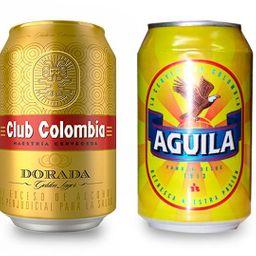 Cerveza en Lata Club Colombia