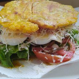 Patacón Burger