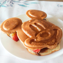 Waffle Mickey Mouse