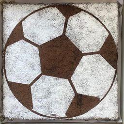 Brownie gigante futbolero