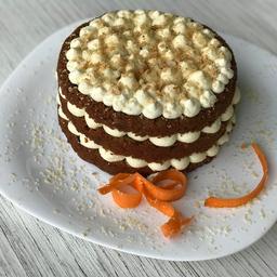 Torta de Zanahoria 4 Porciones