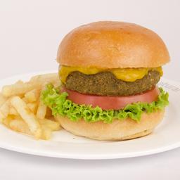 Hamburguesa con Ají Amarillo
