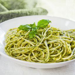 Espagueti Al Pesto