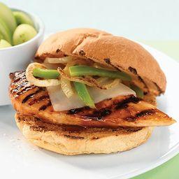 Sándwich de pollo grille