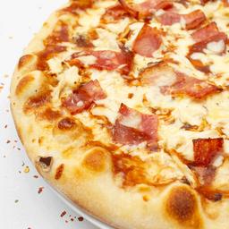 Pizza grande carbonara
