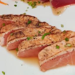 Tataki de salmon