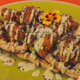 Chicken Wafflemole