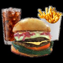 Combo Rocky II Double Cheeseburger