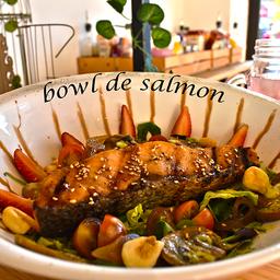Bowl de Salmón