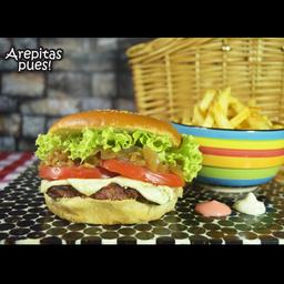 Hamburguesa Arepita Pues