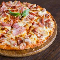 Pizza Jamón Queso Mediana