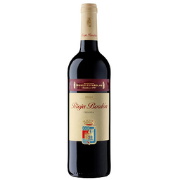 Botella de Vino Rioja Bordón Crianza 750ml