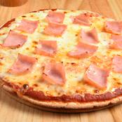 Pizza Jamón & Queso Borde Queso