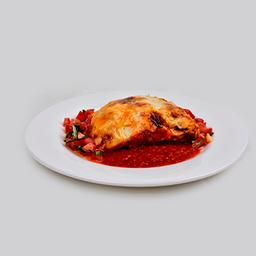 Lasagna alla Bolognese.