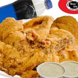 Pollo Entero y Gasesosa 1,5 l