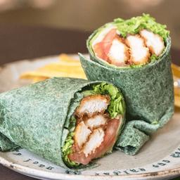 Wrap teriyaki (200 gr pollo)