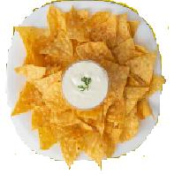Nachos con Crema Agria