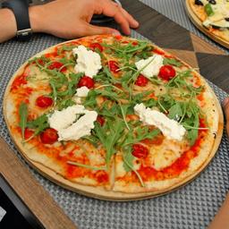Pizza Margarita Mosto