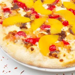 Pizza mediana tropical