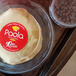 Masa Galletas Chips de Chocolate