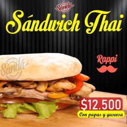 Sándwich thai