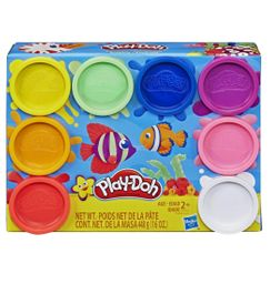 &PLAY DOH X 8 PACK