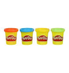 Set 4 mini latas - colores clásicos