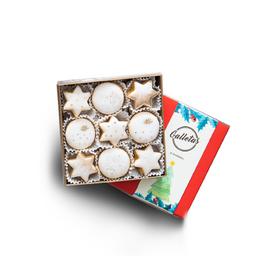 Caja de Galletas Blancas X 9