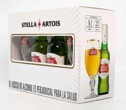 Stella Artois Cerveza + Caliz