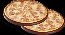 2 Pizzas Medianas 1 Ingrediente