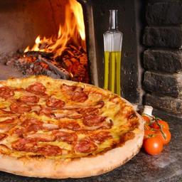 Pizza con Carnes